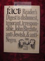 FACT March-April 1966 Sloan Wilson Alan R. Nelson Francesca Milano Fred J. Cook