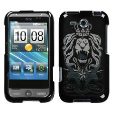 HTC FREESTYLE F5151 AT&T HARD CASE BLACK LION KING