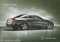 5032MB Mercedes E-Klasse Coupe Preisliste 2012 4.4.12 deutsche Ausg. price list