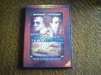 double dvd 1 dvd 2 films complot terroriste + operation delos