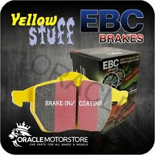 NEW EBC YELLOWSTUFF FRONT BRAKE PADS SET PERFORMANCE PADS OE QUALITY - DP41909R