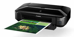 Canon PIXMA iX6860 A3+ WiFi Wireless Inkjet Colour Printer AirPrint Google Print