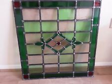 More details for vintage stained glass panels, leaded x 5  sold at £65 each or £200 job lot.