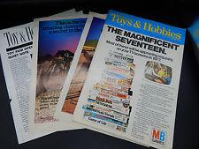 vintage British TOY & HOBBY retailer advertising catalog HOT WHEELS cars MB game