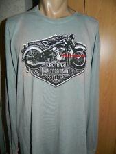 Harley-Davidson Langarm Shirt Herren Gr. M Neu B&S old style Schmuddel Look SALE