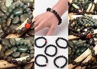 Natural LAVA Bead Diffuser Gemstone Meditation Scent Bracelet Yoga Essential Oil