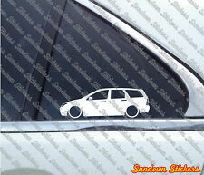 Lowered stickers auto aufkleber - for Ford Focus Mk1 kombi