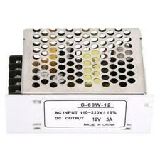 5A 12V Ac/Dc Voltage Converter Universal Regulated Switch Power Supply for Led