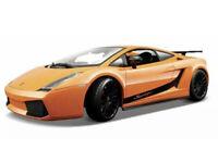 MAISTO 2007 LAMBORGHINI GALLARDO SUPERLEGGERA ORANGE 1:18 DIECAST SPORTS CAR