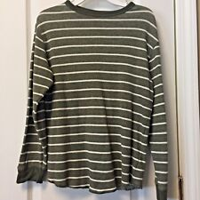 Gap Kids Shirt Boys Striped Long Sleeve Pullover Tee Top Boys L 10