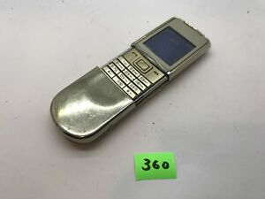 Nokia Sirocco 8800 - Gold (Unlocked) Cellular Phone AJ360