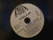 "YELLO VICIOUS GAMES REMIXES 12"" LP 1993 SMASH 162-440 812-1 DJ PROMO"