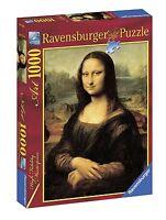 RAVENSBURGER PUZZLE LEONARDO DA VINCI: LA GIOCONDA 1000 PEZZI   ART 15296