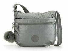 kipling Basic Plus Eyes Wide Open Arto Shoulderbag Tasche Metallic Stony