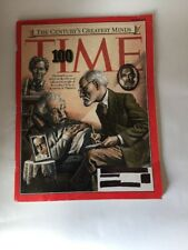 Time Magazine 4th in Series 100 Greatest Minds Scientists & Thinkers 3/29/1999