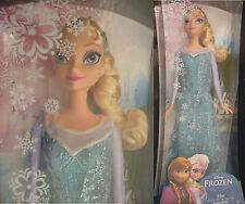 RARE BARBIE ELSA 2013 NEUVE MATTEL NRFB BLONDE 1ère édition Disney Frozen MATTEL