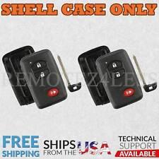 2 For 2010 2011 2012 2013 2014 2015 2016 Toyota Prius C V Remote Shell Key Case
