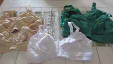 5 Mastectomy Bras 44D Almost U Pocketed for Prosthesis  Brand New With Tags