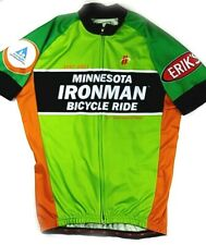 Hincapie Minnesota Ironman Short Sleeve Zip Up Racing Jersey, Size L