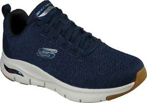 NEW Mens SKECHERS Arch Fit Paradyme Sneaker Navy MESH Sneaker Shoes AUTHENTIC