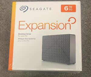 Brand New SEAGATE STEB6000403 SEAGATE 6TB EXPANSION DESKTOP DRIVE USB3.0