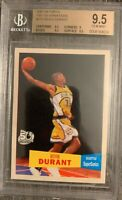 IN HAND KEVIN DURANT RC 2007-08 Topps 1957-58 Variations BGS GEM MINT 9.5 Nets