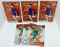 Ricky Rubio 6 Card Lot 2019-20 Mosaic Reactive Orange Prizm & Revolution - Suns