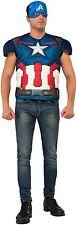 NEW Adult Avengers 2 Captain America Costume Top Costume MEDIUM
