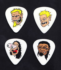 Metallica Signature Caricature 4 Guitar Pick Set - 2003/2004 St Anger Tour