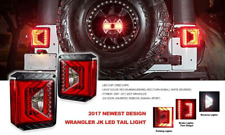 JEEP WRANGLER JK CREE LED TAIL LIGHTS / RSJTLCHP RACE SPORT LIGHTING / ** NEW **