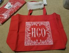 NWT HOLLISTER So Cal TOTE BOOK SCHOOL BAG Red by Abercrombie