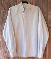 J.Crew Long Sleeve Button Down 15-15 1/2 Gingham 2 Ply Cotton Mens Dress Shirt