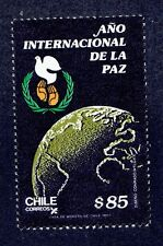 CHILE 1986 STAMP # 1205 MNH INTERNATIONAL YEAR OF PEACE