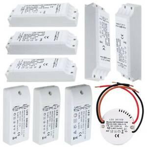 LED Driver Trafo 12V DC AC Netzteil Treiber Transformator 6W 12W 15W 18W 30W 60W