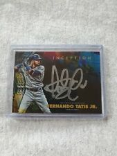 🔥🔥2020 Topps Inception Fernando Tatis Jr Silver Auto 17/70 Case Hit🔥🔥