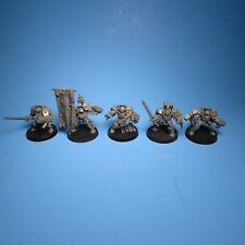 GW Warhammer 40k Grey Knight Terminators x5 Assembled i34