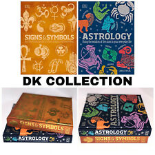 Astrology Book + Signs and Symbols DK Books Collection Set of 2 Hardcover Books