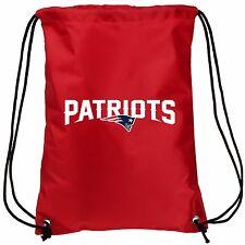 New England Patriots Double Side Back Pack Sack Drawstring Gym Bag Tote Backpack