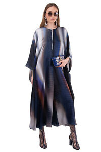RRP €2775 ROBERTO CAVALLI Silk Satin Jumpsuit Size 40 / S Ruffle Snakeskin Print