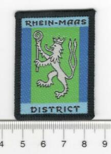 UK Scouts BSWE Rhine-Maas District Badge