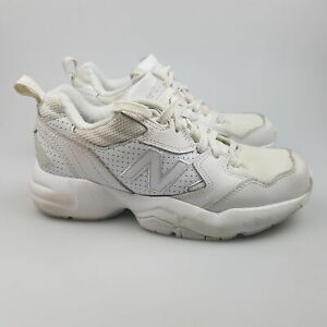 Women's NEW BALANCE '708' Sz 7 US Runners Shoes White VGCon | 3+ Extra 10% Off