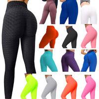 Womens Yoga Leggings Push Up Sport Fitness Anti Cellulite Pants Tik Tok Leggings
