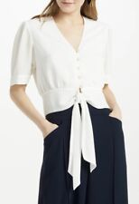 somerset by alice temperley Size 18 Tie Waist Top Ivory Bnwt Rrp £59