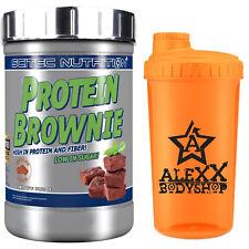 Scitec Nutrition Protein Brownie 750g Schokolade + Shaker Protein Muffins
