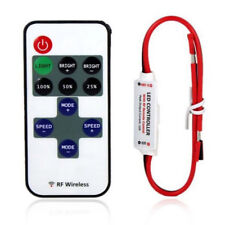 12V RF Wireless Remote Switch Controller Inline Dimmer for LED Strip Lights