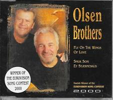 OLSEN BROTHERS - Fly on the wings of love CD SINGLE 2TR EUROVISION 2000 DENMARK