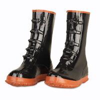 Black 5-Buckle Over Shoe Rubber Slush Boots Size 10-16 *Free US Shipping*