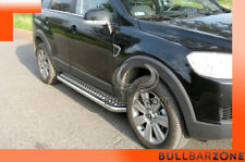 CHEVROLET CAPTIVA 2006-2010 MARCHE-PIEDS INOX PLAT / PROTECTIONS LATERALES