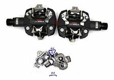 "LOOK X-TRACK RACE CARBON PEDALS CLIPLESS 9/16""  ROAD / MTB BICYCLES"