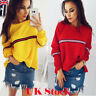 Women Batwing Sleeve Baggy Hoodie Pullover Sweatshirt Ladies Jumper T-Shirt Tops